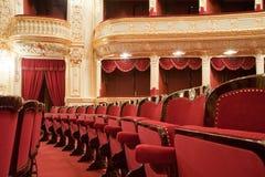 кресла театралые Стоковое Фото