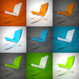 кресла Стоковые Изображения RF
