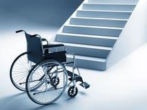кресло-коляска лестниц бесплатная иллюстрация
