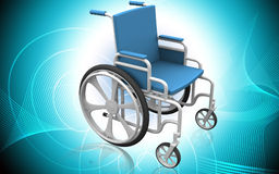 кресло-коляска Иллюстрация вектора