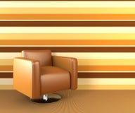 кресло самомоднейшее Стоковые Изображения