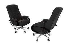 кресло 04 изолировало офис Стоковое фото RF