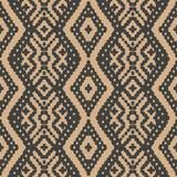 Креста геометрии проверки сведений картины штофа вектора рамка безшовного ретро аборигенная Элегантный роскошный коричневый дизай бесплатная иллюстрация