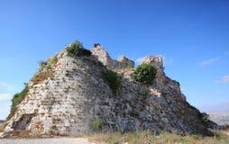 крестоносец Ливан замока beaufort стоковые изображения