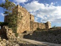 крестоносец Ливан замока byblos стоковые изображения rf
