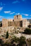 крестоносец цитадели byblos стоковая фотография