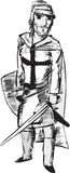 крестоносец Стоковые Изображения