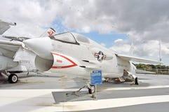 Крестоносец F-8 стоковое изображение rf