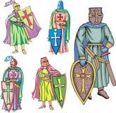 Крестоносцы бесплатная иллюстрация
