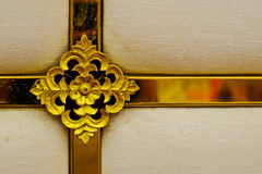 Кресты золота стоковые фотографии rf