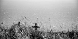 Кресты на скале Стоковое Изображение
