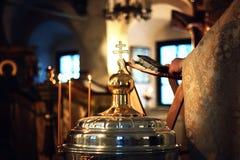 Кресты церковной службы стоковая фотография