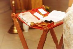 Кресты церковной службы стоковая фотография rf