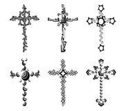 кресты Стоковая Фотография