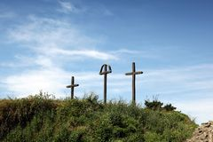 кресты стоковые изображения
