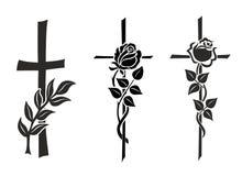 Кресты иллюстрация вектора