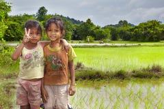 Крестьянин Лаос Стоковые Изображения RF