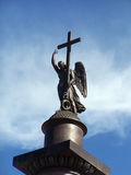 крест ангела Стоковое Изображение RF