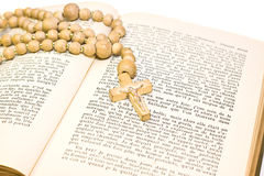 крест библии Стоковые Изображения RF