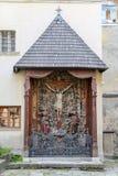 Крест в армянском соборе Львова, Украины стоковое фото