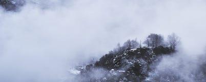Крест в небе Стоковое Фото