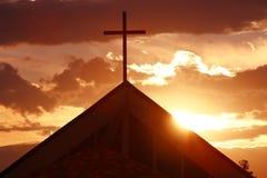Крест где Иисус умер Стоковое фото RF