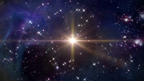 Крест звезды ночи космоса оранжевый бесплатная иллюстрация