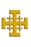 Крест Иерусалима. бесплатная иллюстрация