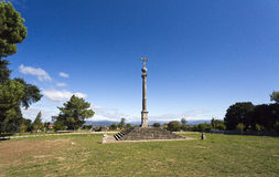 Крест камня Tibaes Стоковые Фото