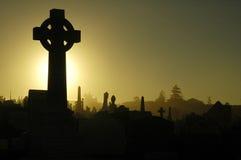 крест кладбища Стоковое Фото