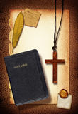 крест коллажа Стоковое Изображение