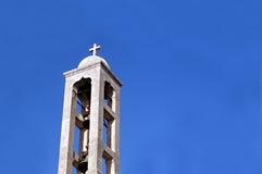 крест колоколов стоковое изображение