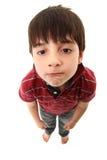 крест мальчика eyed Стоковая Фотография