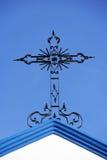 Крест металла Стоковое фото RF