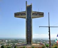 Крест наблюдателя в Ponce, Пуэрто-Рико Стоковые Фотографии RF