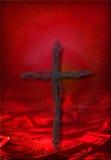 крест наличных дег Стоковая Фотография