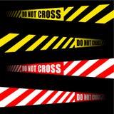 крест не связывает тесьмой Стоковые Изображения RF
