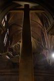 Крест Нотр-Дам de Парижа стоковое изображение