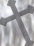 крест предпосылки Стоковая Фотография RF