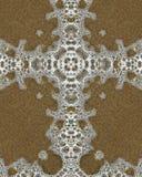крест пузыря Стоковые Фото