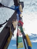 Крест саммита горы Grossglockner в Австрии стоковые изображения rf