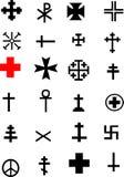 крест собрания иллюстрация вектора