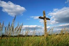 крест страны Стоковые Изображения