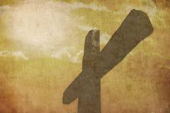Крест страсти Стоковые Фото