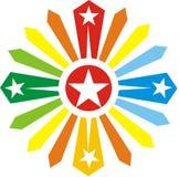 крест цвета Стоковые Фотографии RF