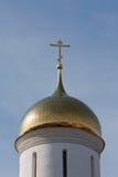 крест церков Стоковая Фотография