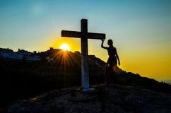 крест Стоковое Изображение RF