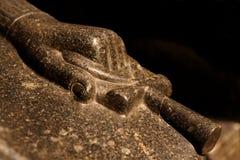 Крест Ankh на руке Стоковые Изображения RF