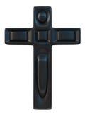 Крест Blask стоковые фотографии rf