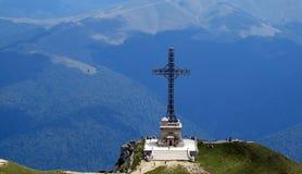 Крест Caraiman Стоковые Фото